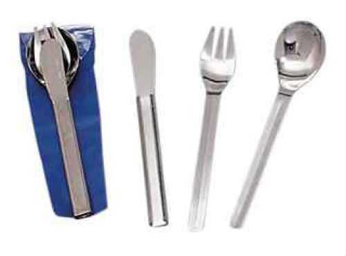 Stansport Deluxe Knife, Fork & Spoon Set 343