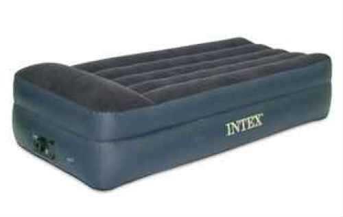 Intex Pillow Rest Air Bed Twin, Built in 120 Volt AC Pump 66705E