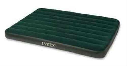 Intex Prestige Downy Air Bed Green, Full, with 4D Pump 66968E