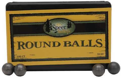 Speer Lead Round Balls .451 138 Gr (Per 100) 5133