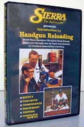 Sierra Reloading DVD Beginning Handgun 0094DVD