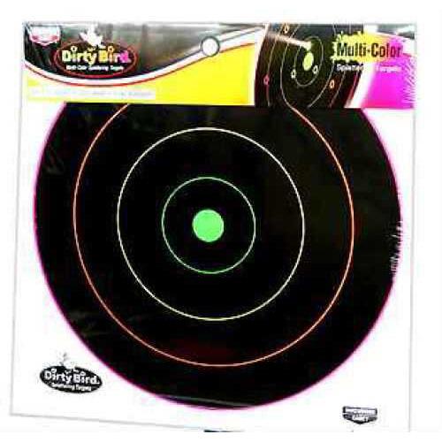 "Birchwood Casey Dirty Bird Multi-Color Target 12"", (Per 10) 35830"
