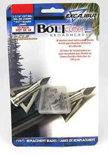 Excalibur BoltCutter Broadhead Replacement Blades, 150 Grain 6671