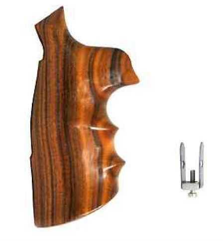 Hogue Wood Grips - Pau Ferro N Round Conversion 25302