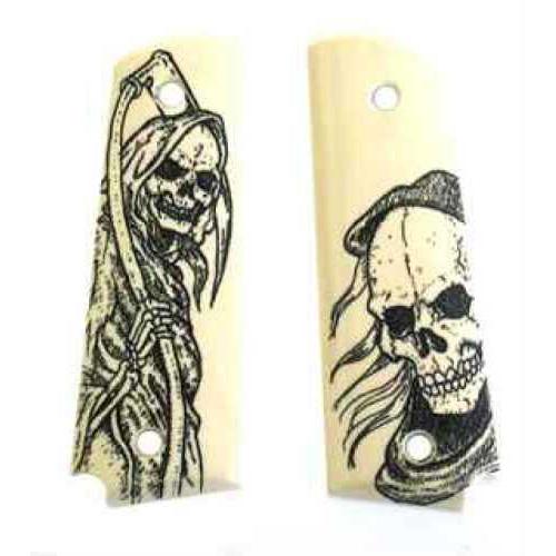 Hogue Government Scrim Ivory Polymer, Reaper