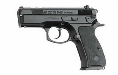 Pistol CZ USA P-01 9mm Luger Luger 9mm Luger Luger, Black Polycoat, 14 Round 91199