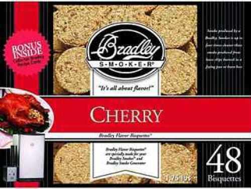 Bradley Technologies Smoker Bisquettes Cherry (48 Pack) BTCH48