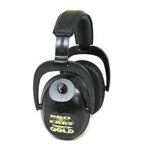Pro Ears Predator Gold Predator, NRR 26, Black GS-P300-B