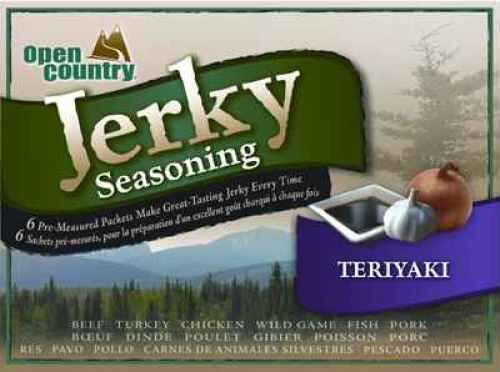 Open Country Jerky Spice Teriyaki (6 Pack) BJT-6SK