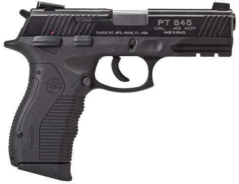 """Taurus M845 45 ACP 4"""" Barrel Blued Finish Semi Automatic Pistol 1845041"""