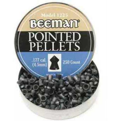 Beeman .177 Caliber Pellets Pointed, Per 250 1225