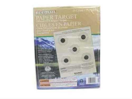 Beeman Paper Targets (Per 25) 2099