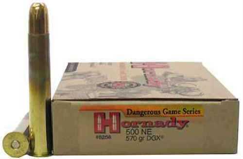 Hornady 500 Nitro Express 570gr DGX (Per 20) 8268