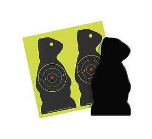 Birchwood Casey Sharpshooter Targets SDPC-6 Chuck 6 Pack 38776