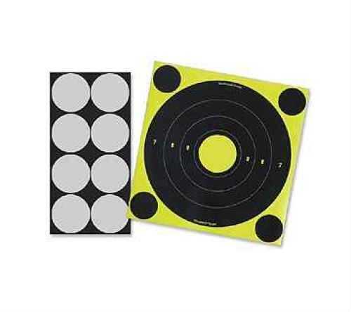 "Birchwood Casey LT-6 Shoot N-C 8"" Round Laser 6-Pack 34807"