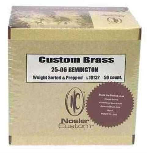 Nosler Brass 25-06 Remington (Per 50) 10132