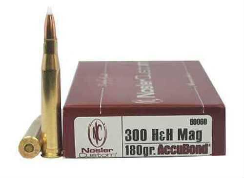 Nosler Trophy 300 Holland & Holland Magnum 180gr AccuBond (Per 20) 60060