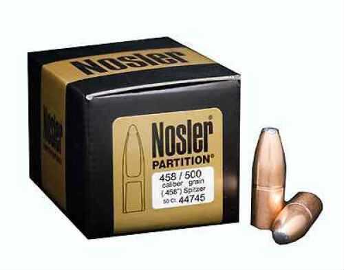 Nosler 458 Caliber 500gr PPT Part (Per 25) 44745