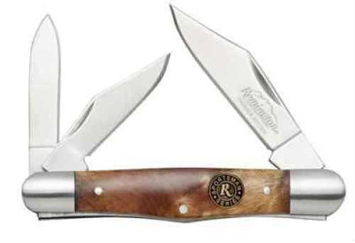 Remington Accessories Insignia Knives Folder Burl Wood Whittler 19328