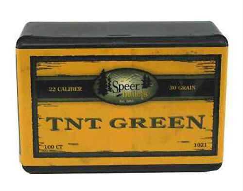 Speer 22 Caliber (.224) 30gr TNT Green HP(Per 100) 1021