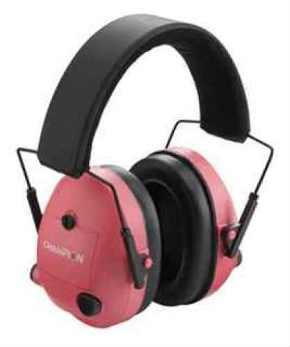 Champion Traps & Targets 21Db NRR Earmuff Plastic Pink Electronic 40975