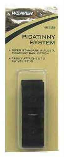 Weaver Swivel Stud to Picatinny Rail Adaptor 48328