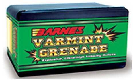Barnes Bullets 22 Hornet Bullets .224 30gr Flat Base 22 Hornet (Per 250) 22446