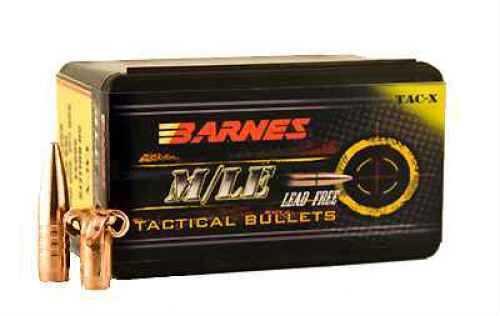 """Barnes Bullets 223/5.56 Caliber Bullets 223/5.56 Caliber (.224"""") 62gr TacX Boat Tail (Per 50) 22406"""