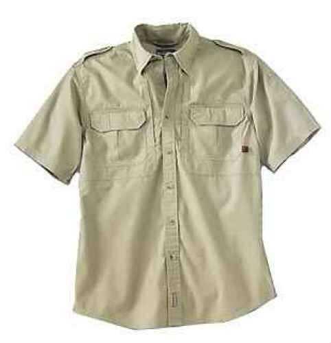 Woolrich Men's Short Sleeve Shirt Khaki Medium 44901-KAK-M