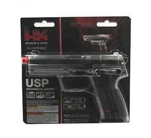 Umarex USA H&K Replica Soft Air USP, Spring, Clear .6MM BB 2273001