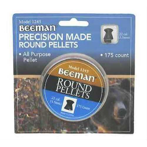 Beeman .22 Caliber Pellets Round, Per 175 1245