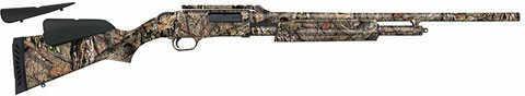 """Mossberg 500 20 Gauge Shotgun 24"""" Slug Ported Barrel Cantilever Scope Mount Camo"""