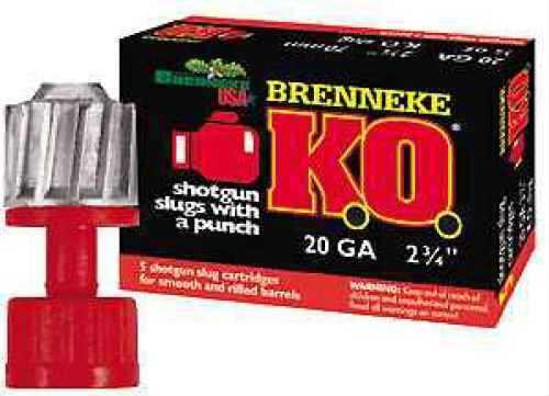 "Brenneke KO Slugs 20ga 3/4oz 2 3/4"" SL-202KO-2009827"