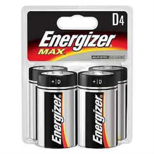Energizer Premium Max Batteries D (Per 4) E95BP-4