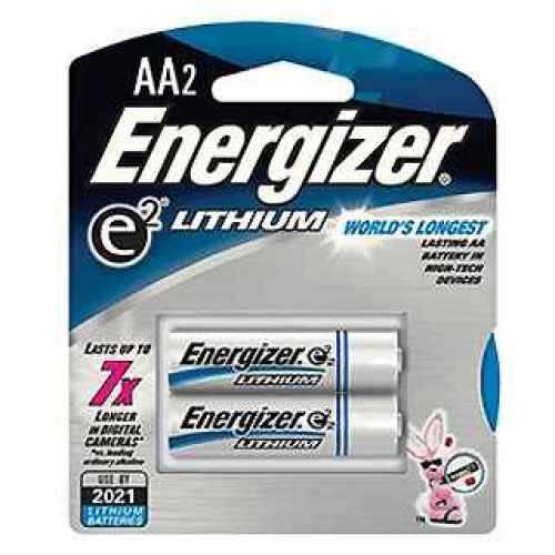 Energizer e2 Lithium Batteries AA (Per 2) L91BP-2