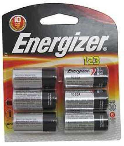 Energizer 123 Lithium Batteries 6-Pack EL123BP-6