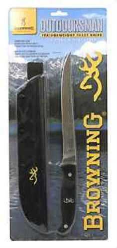 Browning Outdoorsman Fillet, Black 322483