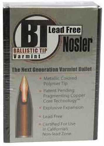Nosler 22 Caliber (.224) 40gr. Ballistic Tip Lead Free 45165