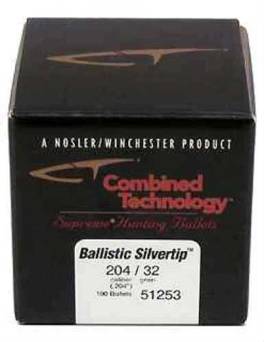 Nosler 20 Caliber 32gr Ballistic Silvertip (Per 100) 51253