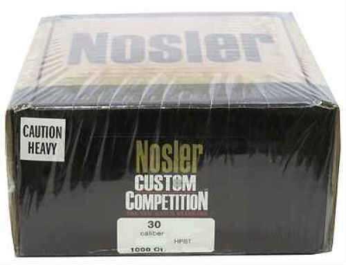 Nosler 30 Caliber 168gr Custom Competition, HPBT (Per 1000) 65934