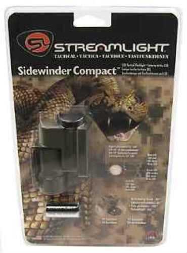 Streamlight Sidewinder Compact Green w/Mount, Green LED 14131