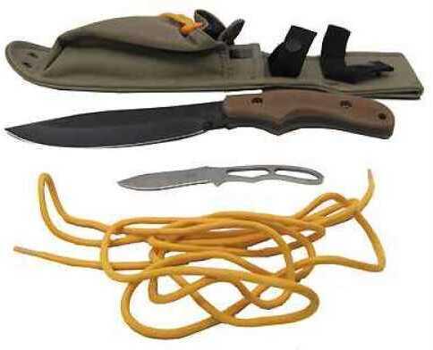 Ka-Bar Johnson Adventure Knife Pot Belly, Polyester Sheath 2-5600-4