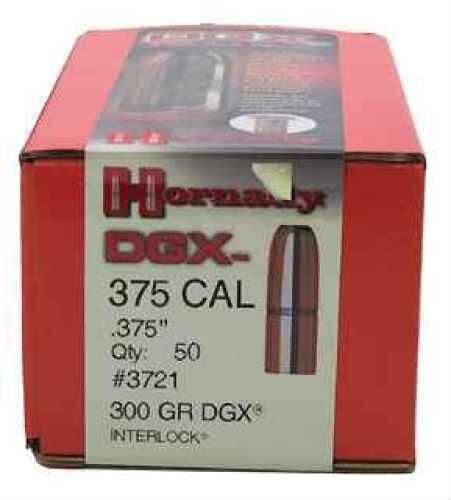 """Hornady DGX .375"""" 375 Caliber 300 Grain Reloading Bullets (Per 50) Md: 3721"""