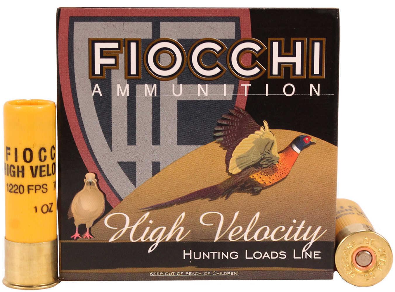"Fiocchi 20 Gauge 2 3/4"" 1Oz #8 High Velocity 25 Rounds Ammunition 20HV8"