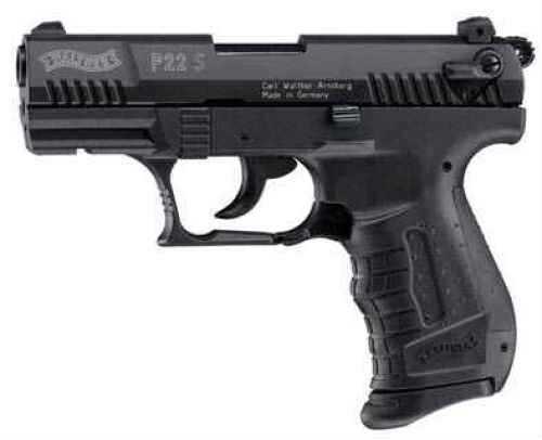 Umarex USA Blank Firing Pistol Walther P22 S 9mm PAK Black Md: 225-2700