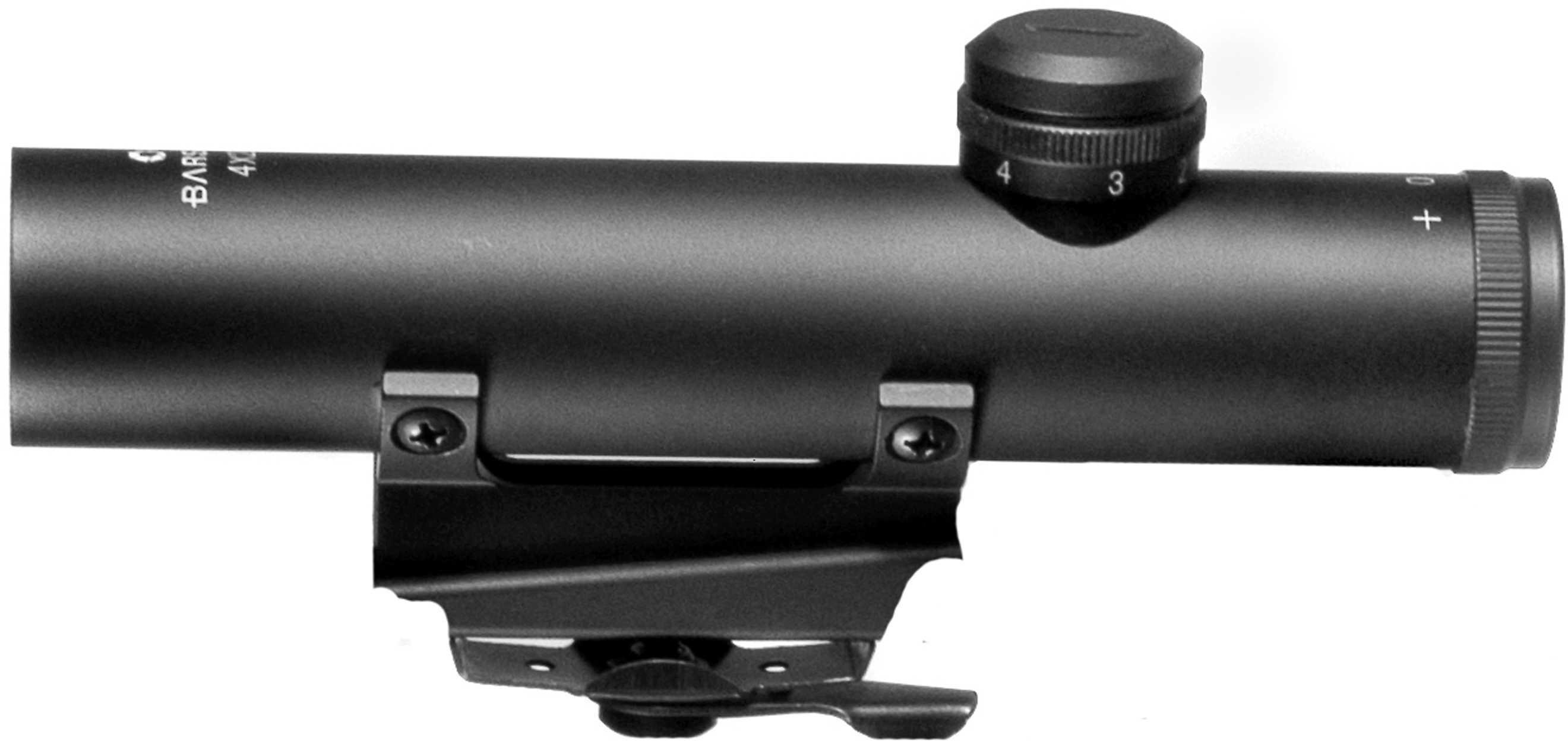 Barska Optics 4X20 M16 Carry Handle Scope BDC Reticle AC10838