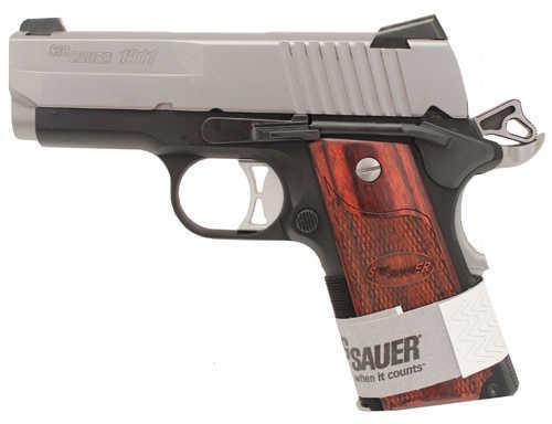 "Sig Sauer 1911 Ultra Compact 45 ACP 3.3"" Barrel 7 Round Duotone Semi Automatic Pistol 1911U45TSS"