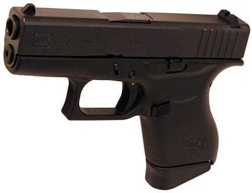 Glock 43 Sub Compact 9mm Luger Single Stack 6 + 1 Rounds 3.36 Inch Barrel Semi Automatic Pistol PI4350201