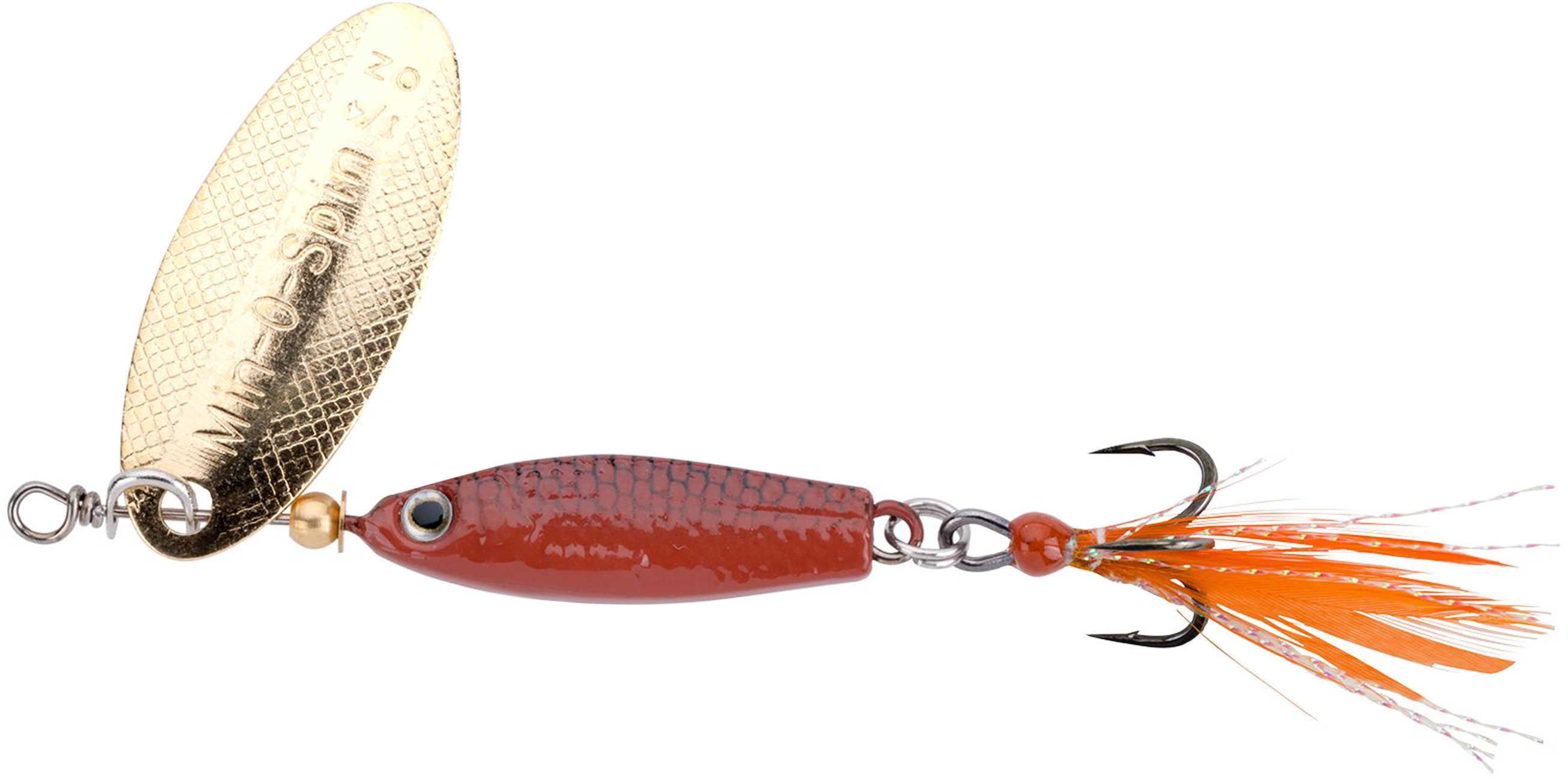 "Johnson Min-O-Spin 3/4"" Length, 1/16 oz, Brown Grasshopper Md: 1371926"