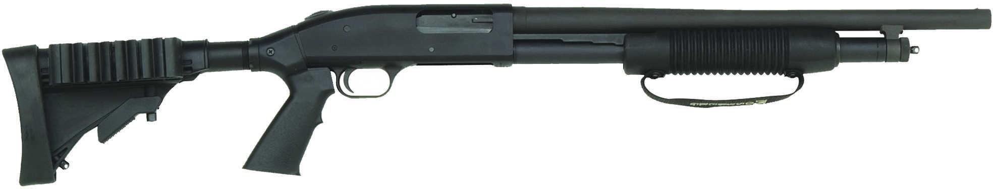 "Mossberg 500 Tactical 12 Gauge 18.5"" Adjustable Stock 6 Round Shotgun 50420"